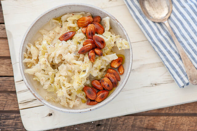 Creamy Cabbage & Almond Soup