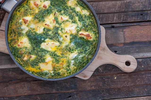 Easy-Spinach-Feta-Frittata-Recipe