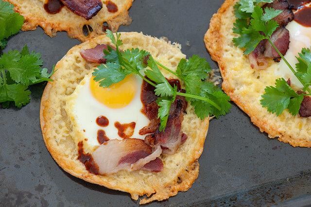 Egg & Bacon Tacos