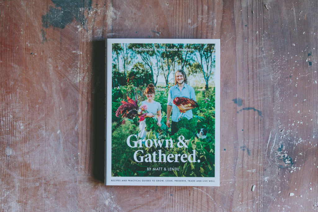 Grown & Gathered Book Cover