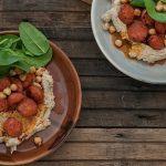 Hummus with Chorizo & Hazelnuts Recipe