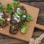 Mexican Roast Eggplant with Green Chorizo Recipe