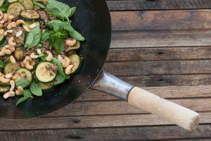 One Pot Beef, Zucchini & Cashew Stir Fry Recipe