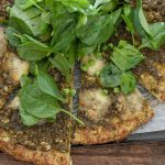 Pea & Pesto Pizza