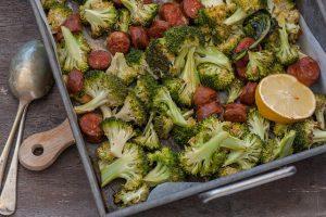 Roast Broccoli & Chorizo