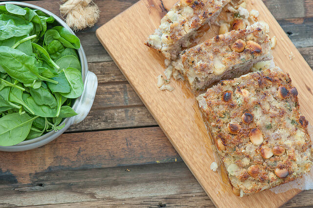 Sausage & Macadamia Stuffing Loaf Recipe