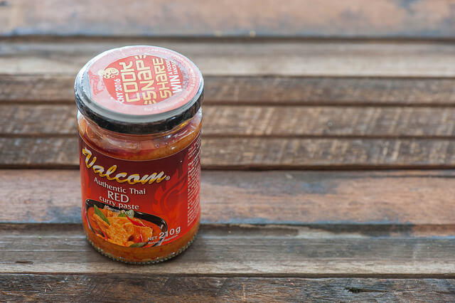 Thai Red Curry Paste Substitutes
