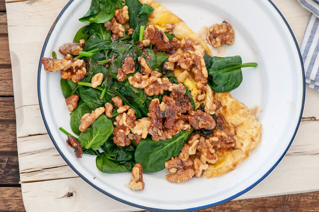Walnut + Brown Butter Omelette