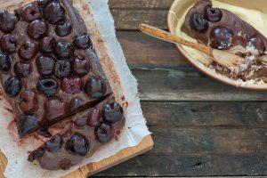 cherry chocolate 'cake'