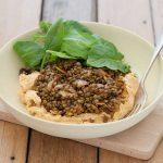 lentils & hummus