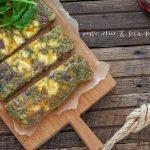 pesto olive & feta frittata